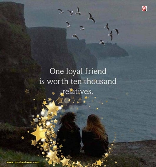 friendship quotes one loyal friend com