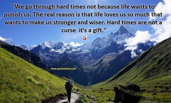 hard time friend quote