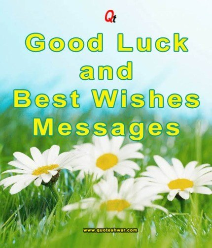 good luck messages